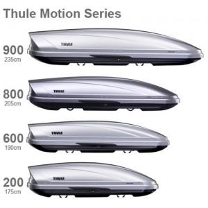 Les dimensions d'un coffre de toit